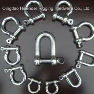 Stainless Steel D Shackle or Bow Shackle Nickel 10%-12% pictures & photos
