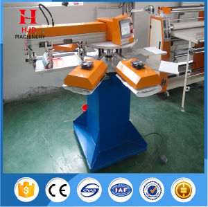 Two Colors Round Shape Automatic T Shirt Screen Printing Machine pictures & photos