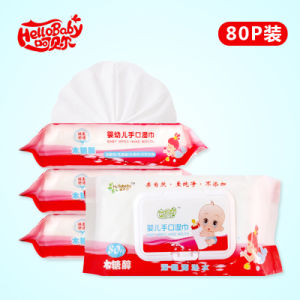80 PCS Cleaning and Care Baby Wipes pictures & photos