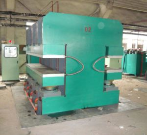China Plate Vulcanizing Press Rubber Vulcanizer Machine pictures & photos