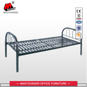Easy Assembly Latest Designs Army Military Steel Frame Single Bed pictures & photos