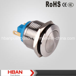 Hban CE RoHS (19mm) Domed Momentary Switches Push Button pictures & photos