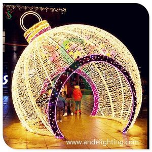 Christmas Light Large 3D Ball Shape Motif Light pictures & photos