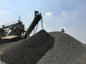 River Stone Gravel Crushing Plant for Aggregates pictures & photos