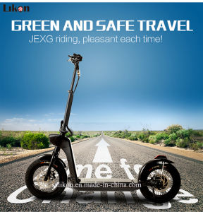 14inches Adult Folded Electric Scooter with 24cm Wide Pedal and Anti-Explosion Tires, Hot Sale Model Jiexg Mini Scooter.