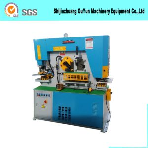 Hydraulic Combined Punching and Shearing Machine/Multifunction Hydraulic Ironworker Machine pictures & photos