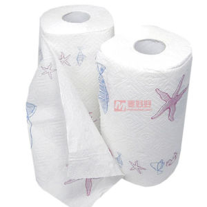 Kitchen Special Toilet Paper Embossed Toilet Paper Fk-369 pictures & photos