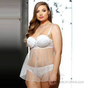 2017 New Ladies Sleepwear with Underwire pictures & photos