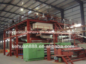 3.2m Ss Newest Design Polypropylene Spun Bond Non Woven Machine pictures & photos