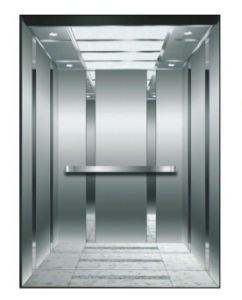 Mirror, Etching, Hairline Stainless Steel Passenger Lift with Competitive Price
