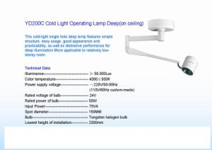 High Quality Medical Operating Lamp pictures & photos