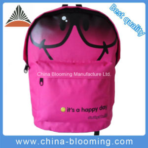 Promotional Polyester Student Backpack Back to School Bag pictures & photos