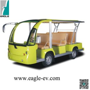 Sightseeing Car, Pure Electric, 11 Seat, 72V 5kw AC System, Curtis Controller, Zapi Controller, Rhd pictures & photos