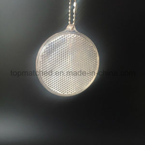 Round Shaped Hard Reflector Plastic/PMMA/Acrylic Reflective Hanger Decoration pictures & photos