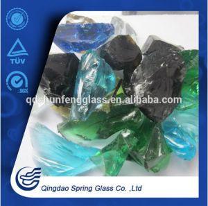 Tumbled Landscape Glass Rocks pictures & photos