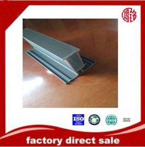 Aluminium Bottom Track Profile for Wardrobe Sliding Powder Coating, Thermal Break pictures & photos