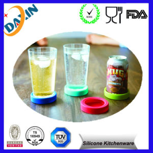 Silicone Heat Resistant Coasters Cup Insulation Mat pictures & photos