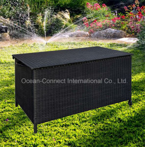 Wicker Cushion Box Storage Rattan Furniture accessory