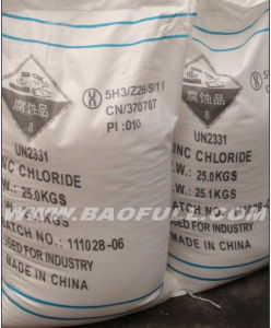 Iron Drum Packed 96%, 98% Zinc Chloride pictures & photos