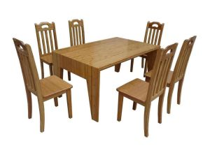 Bamboo Table and Chair Set (JD-FN055)