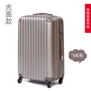 Cheaper and Fashion Trolley Luggage Bags with Slippery Surface pictures & photos
