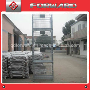 Foldable Collapsible Steel Wire Mesh Storage Cage Pallet Container pictures & photos