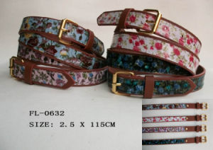 Fashion PU Belt for Lady (FL-0326) pictures & photos