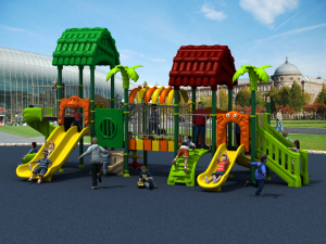 2017 Children Kids Outdoor/Indoor Playground with TUV-GS\Ce\En 1176\SGS\Ohsas18001\ISO9001\ISO14001 Certificate Woods Series (HD15A-025A) pictures & photos