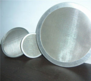 Ss Woven Mesh Filter Disc Manufacturer pictures & photos