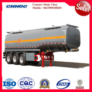 ISO CCC Approved 3 Axles 60cbm 30t Chemical Tank Trailer pictures & photos