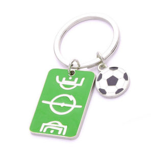 Souvenir Gifts Brazil Sport Football Keychain with Customer Logo (F1193) pictures & photos