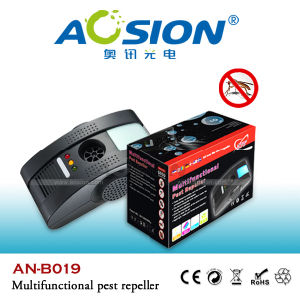 Advanced Indoor Electromagnetic and Ultrasonic Pest Repellent