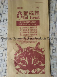 Paper -Plastic Compound Cat Litter Bag pictures & photos