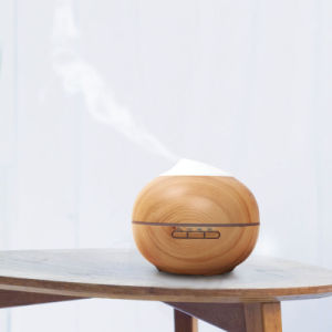 300ml Wood Grain Portable Electric Air Purifier Aromatherapy Cool Mist Ultrasonic Humidifier Aroma Essential Oil Aroma Diffuser pictures & photos