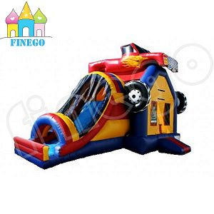New Style Inflatable Combo Car Water Slide Inflatable Bouncer House pictures & photos