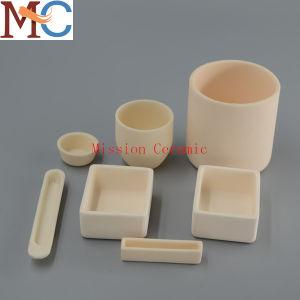 Refractory 99 Al2O3 Alumina Corundum Ceramic Crucible pictures & photos