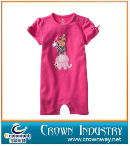 Wholesale Fancy Short Sleeve Baby Romper / Baby Clothes pictures & photos