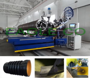 HDPE Profiled Wall  Pipes Production machine pictures & photos
