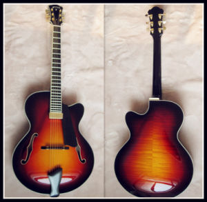 Jazz Guitar with Plywood (YZ-107S)