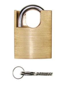 High Quality Brass Padlock W/Arc Shackle (265BL) pictures & photos