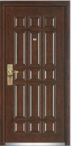 Steel Wooden Armored Door (YF-G9003) pictures & photos