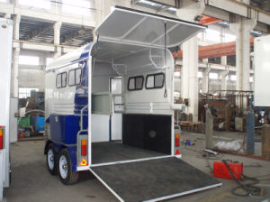 2 Horse Trailer Angle Load With Pop up Door pictures & photos