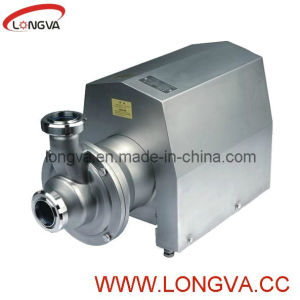 Sanitary Cip Self-Priming Pump pictures & photos