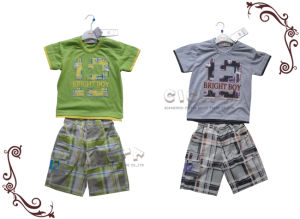 Boy′s 2 PCS Set (S10104)