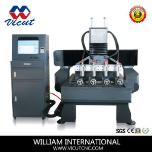 3D Rotary Engraving Machine CNC Machinery (VCT-7090R-4H) pictures & photos