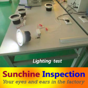 LED Quality Control Services in Shenzhen, Guangdong and Zhejiang / Reliable Third Party Inspection Services pictures & photos