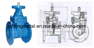 Cast Iron Non-Rising Stem Resilient Soft Seated Gate Valve pictures & photos