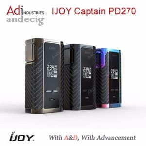 Hot Selling Ijoy Captain Pd270 Original Ijoy Captain Box Mod Pd270 Fits Dual 20700 / Dual 18650 pictures & photos