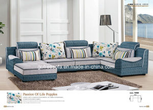 U Shape Fabric Sofa