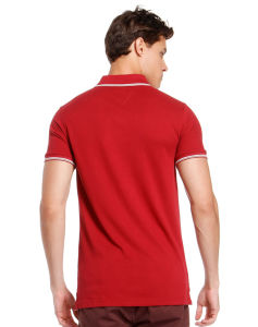 China Custom Cheap High Quality Men′s Cotton Polo T Shirt pictures & photos